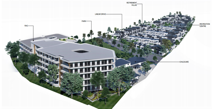 Retirement Village, Childcare Centre, and Residential Care Facility on Mango Hill Proposed